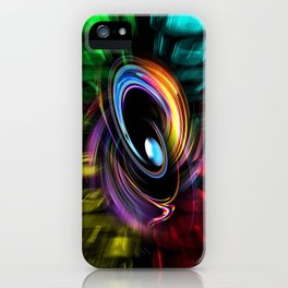 Abstract perfection 46 iPhone Case