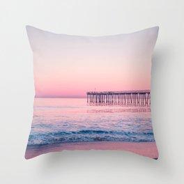 Hermosa Beach, USA #society6 #decor #buyart Throw Pillow
