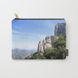 Landscape of Montserrat mountain in Catalonia, Spain Carry-All Pouch