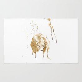 Coffee Bear Rug