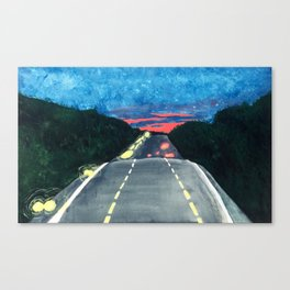 Georgia Drive Canvas Print