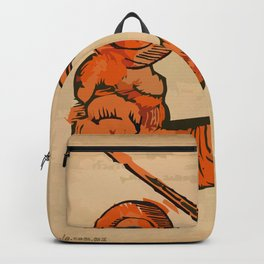 misterio visual 19: guerra contemplativa Backpack