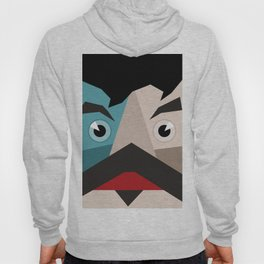 Face abstraction Hoody