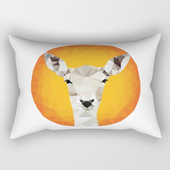 ♥ CHEEKY ROE ♥ Rectangular Pillow