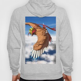 Sunlit Grace Above the Clouds Hoody