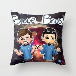 Star Trek: Space Bros Throw Pillow