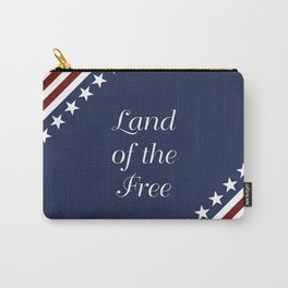 U.S.A. - Land Of The Free Carry-All Pouch