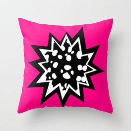 Star of Dalmatians Throw Pillow