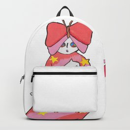 RETRO ANIME BUTTERFLY GIRL Backpack