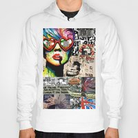 punk rock Hoodies featuring Punk Rock poster by Mira C