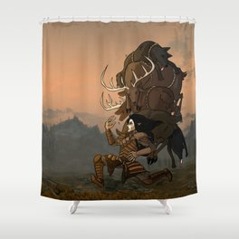 The Reality of Gaming  Shower Curtain