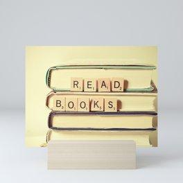 Read Books Mini Art Print