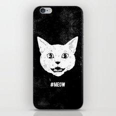 #MEOW iPhone & iPod Skin