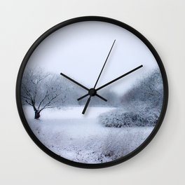 winter magic Wall Clock