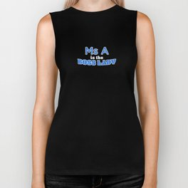 Ms A is the Boss Lady Biker Tank