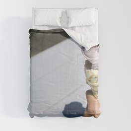 Gelato in a cone Comforters
