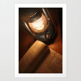 Electric Lantern Art Print