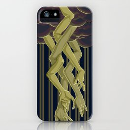 When The Sky Touched The Earth iPhone Case