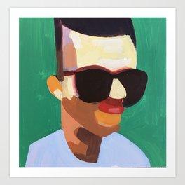 Distance Portrait IV Art Print