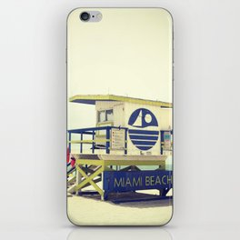 Miami Beach iPhone Skin