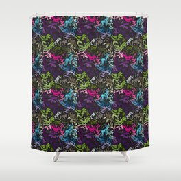 pattern_colors Shower Curtain