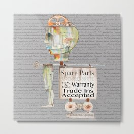 Spare Parts  Metal Print