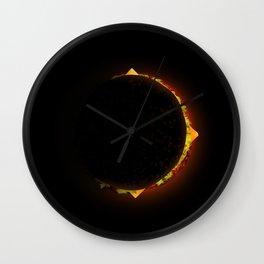 Burger Eclipse Wall Clock