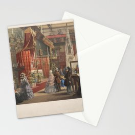 Mediaeval Court from the Great Exhibition of 1851,1851 Stationery Cards