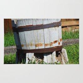 Old Barrel - Jeronimo Rubio Photography 2016 Rug