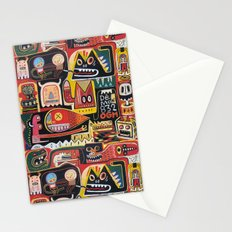 Mutant pop corn Stationery Cards