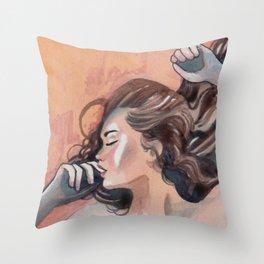 Flavor of orange Throw Pillow