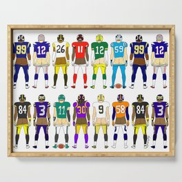 Football Butts Serving Tray