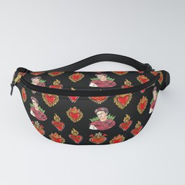 Sacred Hearts and Frida Fanny Pack