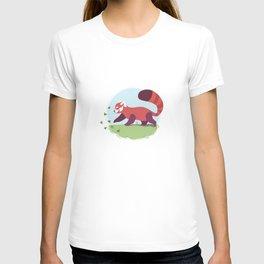 Red Panda cub T-shirt