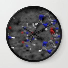 Nucleobases Wall Clock