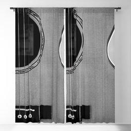 acoustic electric guitar music aesthetic close up elegant fine art photography  Blackout Curtain