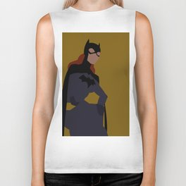 Batgirl Minimalism Biker Tank