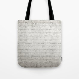 "MUSIC by collection ""Music"" Tote Bag"