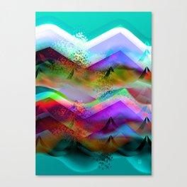 Ocean-Race  no21 Canvas Print