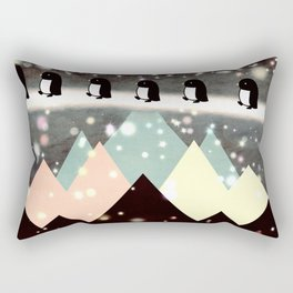 New account penguin by prosperousvs 479 Rectangular Pillow