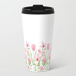 Blush pink blossom Travel Mug