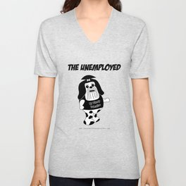 The Unemployed - Daffy Unisex V-Neck