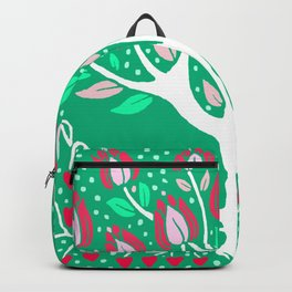 Love Grows Forever - Emerald Green Backpack