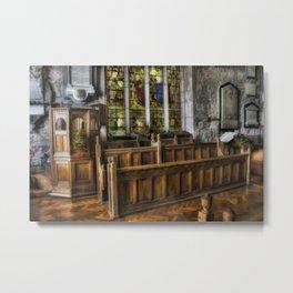 Choir Seating Metal Print