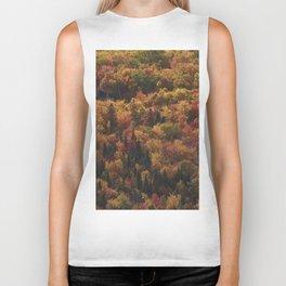 Landscape in Canada - Autumn Biker Tank
