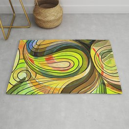 So Nothing Is Created Perfect - Autumn Harvest Rug