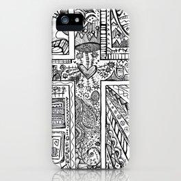 Cross12 iPhone Case