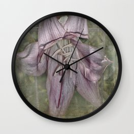 Peeking Out Wall Clock