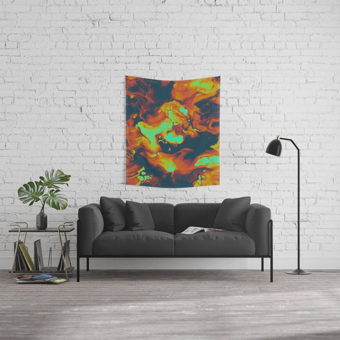 DAY LIGHT AND BAD DREAMS IN A COOL WORLD FULL OF CRUEL THINGS Wall Tapestry