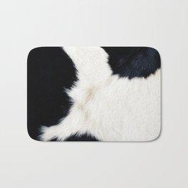 Farmhouse Cowhide Bath Mat